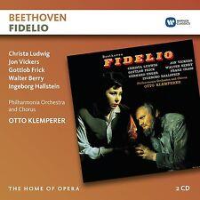 OTTO/LUDWIG,CHRISTA/VICKERS,JON KLEMPERER - FIDELIO 2 CD NEU BEETHOVEN