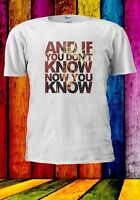 If You Don't Know Now You Know Biggie And Men Women Unisex T-shirt 944
