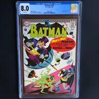 Batman #190 (1967) 💥 CGC 8.0 💥 Classic Penguin Cover by Infantino! DC Comics