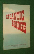 HMSO ATLANTIC BRIDBE  BOOKLET