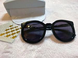 Authentic Karen Walker Super Duper Black Sunglasses