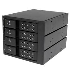 "StarTech 4 Bay 3.5"" SATA/SAS HDD Trayless Mobile Rack Backplane w/Fan"