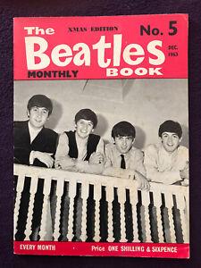 Original BEATLES BOOK MONTHLY Magazine No.5 December 1963 Very Good Condition