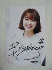 Park Bo Young 4x6 Photo Korean Actress KPOP autograph hand signed USA Seller Y10