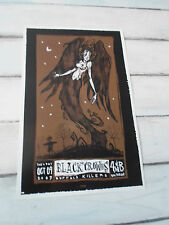 "THE BLACK CROWES Concert Poster BUFFALO KILLERS San Diego 4th & B 11""x17"""