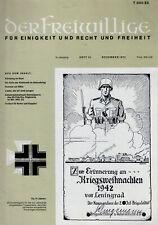 DER FREIWILLIGE 12/1973    WH/HIAG/SOLDAT/KRIEG