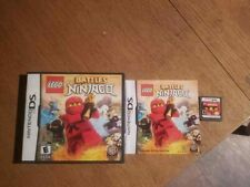 LEGO Battles: Ninjago (Nintendo DS, 2011 Complete CIB