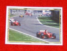 Ferrari F1 1996 Michael Schumacher at German GP-  Panini SpA Sticker Series #104