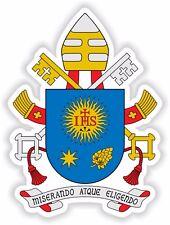 Pope Francis Coat Of Arms Papa Francesco Francisco Vinyl Sticker Bumper Fridge