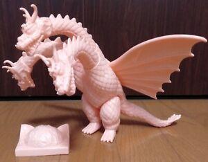 Marmit Godzilla Kingu Gidora Beige Mold Japan LE Sofubi Sofvi King Ghidorah