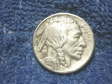 Rare Buffalo Nickel 1923-S Très Fin Extrêmement Fine