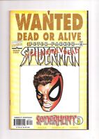Spider-Man 89 NM Wanted Dead or Alive Poster Romita Variant Marvel Comics Book