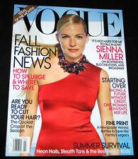 2009 Vogue SIENNA MILLER (N-MINT COPY)