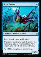 4x River Sneak NM Ixalan  MTG Magic Blue Uncommon