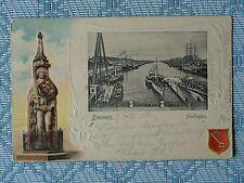 Ansichtskarten vor 1914 aus Bremen mit dem Thema Schiff & Seefahrt