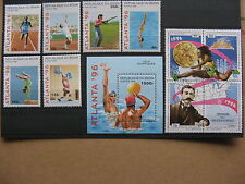 BENIN, stamps MNH 1996, set + S/S Olympic Games + block 4 olympic Philately