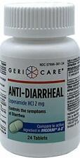 Anti-Diarrheal 2Mg 96 Caplet (4 bottles of 24) by Gericare For Diarrhea Symptoms