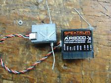 SPEKTRUM AR8000-X 8 CHANNEL DSMX 2.4 GHz RECEIVER & SATELLITE TESTED & WORKING