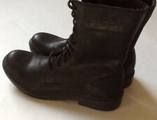 Harley Davidson Men's 'After Riding' Lace Up Boots, Black Leather, Size 10.5