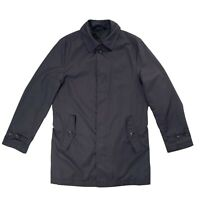 M&S Collection Beco Int. Mens Navy Rain Jacket Size S Water Repellent Jacket