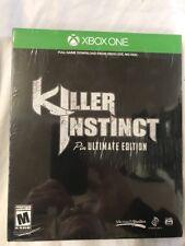 New! Killer Instinct [Pin Ultimate Edition] (Xbox One, 2013) - nib (W3)