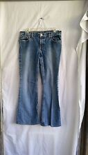 Ralph Lauren Polo Jeans Women's Blue Size 9 - 10 Hipster Flare