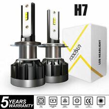 2X H7 210W Car CREE CSP LED Headlight Kit Canbus Error Free Lamp 50000LM 6000K