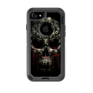 Skin Decal for Otterbox Defender iPhone 7 Case / Skulls inside Skulls Art