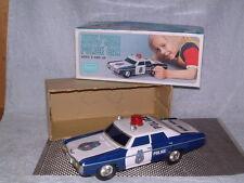 SEARS ALPS CHEVROLET IMPALA B/O, POLICE CAR TIN, FULLY WORKING W/BOX!