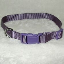 Adjustable Extra Large Lavender Purple Dog Collar fits Big Dogs 15-23 Inches