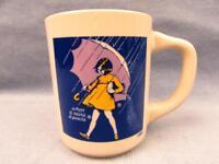 Morton Salt Coffee Advertising Cup Vintage Mug  b47