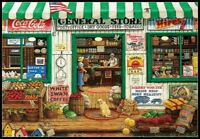 General Store - Chart Counted Cross Stitch Pattern Needlework Xstitch craft DIY