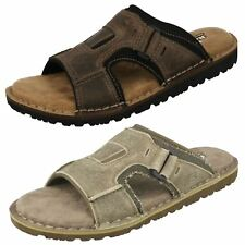 Mens Skechers Memory Foam Sandals Golson 64148