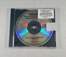 Sealed Toshiba Satellite M110 / M115 Recovery & Application Disc Windows TK145