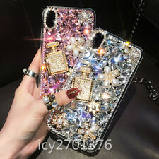 For Samsung Galaxy A71 3D Nice Luxury Bling Soft Phone back Case Cover + Strap