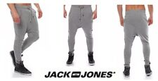 Jack & Jones Sweat Pants Tight Fit Noos Light Grey Size Medium New Free Delivery