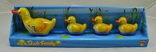 Genuine Schylling Tin Plate Toy - Family of Ducks - Classic Tinplate Collectors