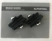 4x Fahrrad Bremsbeläge Felgenbremse Rennrad Cartridge  55mm Für Shimano, SRAM,