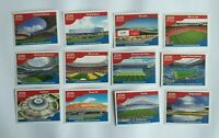 Panini WM 2018 Stadion Stadium Fotos Complete Set World Cup WC 18