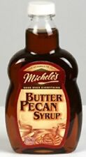 Michele's Butter Pecan Syrup 13 oz Bottle