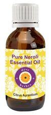 Pure Neroli Essential Oil Citrus aurantium 100% Natural Uncut Therapeutic Grade