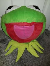 Official Disney Store Kermit The Frog The Muppets Large 3D Face Cushion