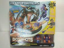 Transformers Bot Shots Battle Game Dragon Track New optimus prime megatron