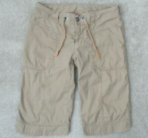 The North Face Womens 2 Stretch Performance Outdoor Utility Cargo Hiking Shorts