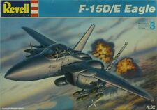 Revell 1:32 F-15 D/E Eagle Plastic Aircraft Model Kit #4755U