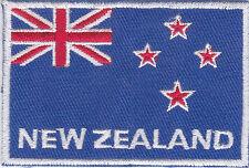 Aufnäher Bügelbild Iron on Patches Flagge Fahne New Zealand Neuseeland /a7d3