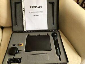 Trantec S.4.5 series UHF radio microphone hand Held