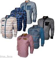 Mens New Rock & Revival Designer Shirts in 7 Different Styles with Many Colours