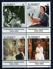 Mint Never Hinged/MNH Royalty British Blocks Stamps