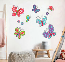 Cute Butterflies Collection Wall Stickers Nursery Decor Baby Kids Art Mural DIY